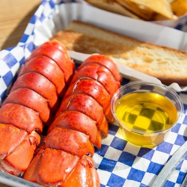 2 lobster tails